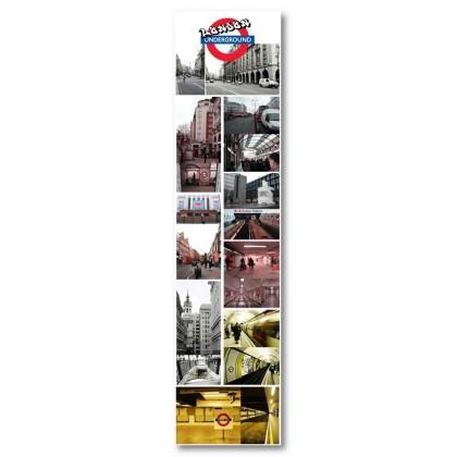 Αφίσα (Λονδίνο, υπόγειος, railway, αξιοθέατα)